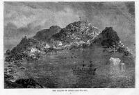 ISLAND OF DISCO DANISH SETTLEMENT, WHALING VESSEL PRINT