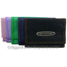 Unisex Sports Wallet Canvas TriFold Change Section by OBSESSED 5 Colours