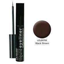 L.A. Colors Smudge Proof LIQUID EYELINER Eye Liner BLACK / BROWN LA