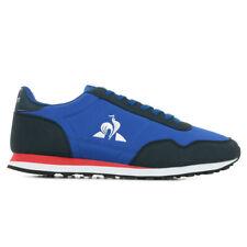 Chaussures Baskets Le Coq Sportif homme Astra Retro taille Bleu Bleue Textile