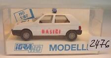 Igra / Rietze 1/87 629 Skoda Favorit Limousine Polizei Hasici CZ OVP #2476