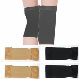 Winter Leg Warmers Women Girls Casual Long Knitted Kneepad Knee Protection Walk