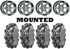 Kit 4 CST Sludge Hammer Tires 30x10-12 on ITP SS212 Machined Wheels CAN