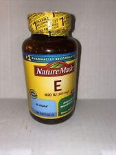 Nature Made Vitamin E 400 IU 300 Softgels  ~EXP 03/2023