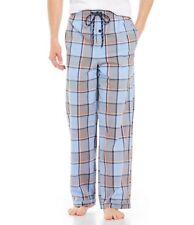 Psycho Bunny Mens Lounge Pants Sleep Pants S Serenity Plaid w/ Blue Bunny NWT