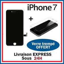 ECRAN LCD RETINA VITRE TACTILE AVEC CHASSIS POUR IPHONE 7 NOIR