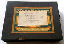 8 Glasnegative + 12 Negative von 3 Ärzten 1930-1945 Foto-Trockenplatte Glasdia