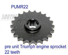New TRIUMPH 650 500 PRE UNIT Engine Sprockets 22 Thies Moteur Pignon e3108 70-3108
