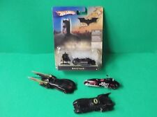 "LOT OF 4 ""BATMAN"" VEHICLE'S 3 USED ONE NEW027084250350"