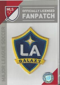 """LA Galaxy MLS Soccer Patch 2 1/2"""" x 3"""" Sew On Iron On Official Futball Logo"""