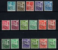 PP135417/ FRANCE – PRE-CANCELLED –Y&T # 106 / 122 MINT MNH – COMPLETE – CV 170 $