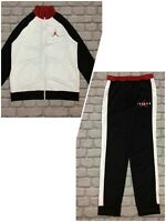 NIKE AIR JORDAN BOYS BLACK POLY TRACK PANTS / TRACK TOP *SOLD SEPARATELY* A