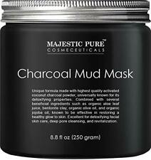 Activated Charcoal Mud Mask, Hydrating and Purifying,, 8.8 Fl. Ounce 2xs!!!