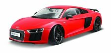 Maisto 1:18 Exclusive Audi R8 V10 Red Diecast Model Racing Car Vehicle Toy NIB