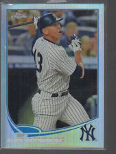 ALEX ROODRIGUEZ 2013  TOPPS CHROME  REFRACTOR CARD #168