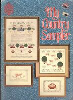 Counted Cross Stitch Patterns My Country Sampler 4 Projects