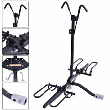 New 2 Bike Carrier Platform Hitch Rack Bicycle Rider Mount Sport Fold Receiver2""