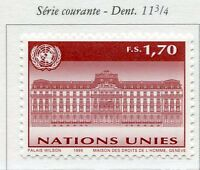 19669) UNITED NATIONS (Geneve) 1999 MNH** Definitive.