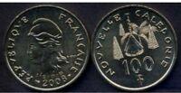 NEW CALEDONIA 100 Francs 2008 UNC