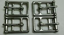 """Dressage Girth 1"""" Stainless Steel Buckles 2 Set 8 Buckles Brand New"""