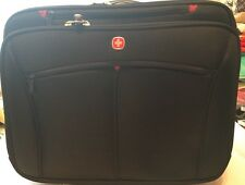 """Wenger Swiss Army Roller Travel Carry-on Laptop Bag Briefcase Luggage Wheels 17"""""""