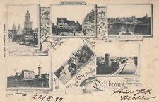Ansichtskarten aus Baden-Württemberg mit dem Thema Brücke
