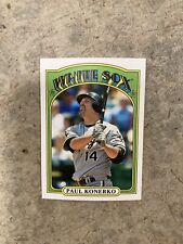 2013 Topps mini #TM-15 Paul Konerko Chicago White Sox 1972 design Baseball Card