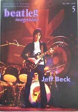 New listing beatleg 5/2005 Japan Music Magazine Jeff Beck Eric Clapton John Hammond Queen