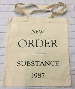 New Order Substance - Natural Tote/Shopper Bag