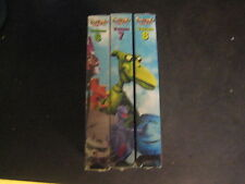 Lot of 3 Pee-Wee's Playhouse VHS Tapes Volumes 6 7 8 NEW Curtis Conky