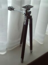 Zenith Telescopic Camera Tripod/Stand Vintage 1950s/60s with Leather Case VGC
