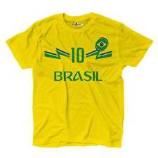 Maglietta T-shirt Calcio Junior Nazionale Neymar Brasile 10 KiarenzaFD Shirts