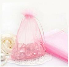 Wholesale 25/50/100Pc Candy Gift Bag Sheer Organza Wedding Christmas Favor Pouch