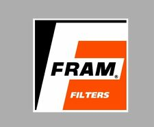 FRAM FILTER OIL AIR RACING RALLY NASCAR DECAL sticker