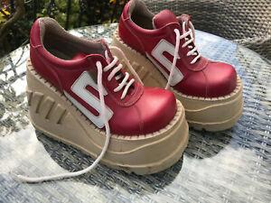 Amazing Vintage SONAX Rare Platform Boots 1970s