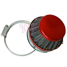 60mm Air Filter Cleaner 49/60/80cc Engine Motor Motorized Motorised Bicycle RED