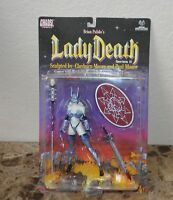LADY DEATH Action Figure Series 2 1999 CHAOS Comics MOORE Collectibles NEW