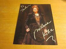 "Milena Kitic Opera Singer Autographed Signed 8.5X11 Photo ""Carmen"""