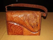 VINTAGE GENUINE ALLIGATOR HANDBAG POCKETBOOK PURSE