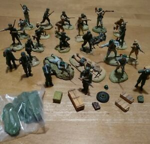 Vintage 21st Century Toys Ultimate Soldier Action Figures 1:48 Scale Lot 27 Plus