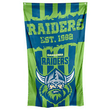 NRL Wall Flag Cape - Canberra Raiders - 150cm x 90cm - Steel Eyelet For Hanging