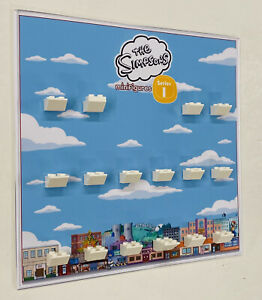 Acrylic Display Frame Insert For Lego Simpsons Series 1 71005 Minifigures figure