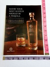Ad Magazine Clipping - Gran Patron Piedra Tequila - your next scotch