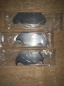 Hooked Knife Blades Made In Sheffield Pack of 15