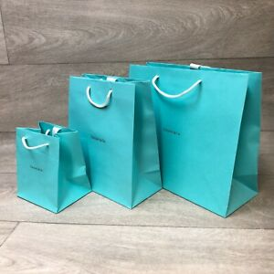 TIFFANY & Co. Gift Bag - Small | Medium | Large - With Ribbon | BRAND NEW