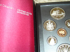 1987 Canada Proof Double Dollar Set (7 Coins Cent to Silver Dollar Mint Set)