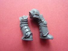 Space Marine Mark III (3) Power Armour Jambes (D) - Combustion De Prospero