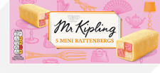 Mr Kipling Mini Battenburg 5 X 32g
