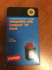 Staples Inkjet Catriidge compatible with Lexmark 70 Black 19 ml