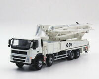 1/50 DY Mercedes-Benz Actros Concrete Pump Truck White Diecast Car Model Toy